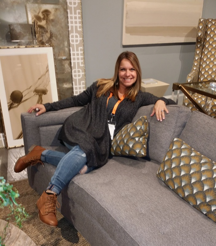 Cheryl at the 2016 High Point Market in North Carolina