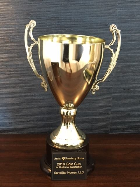 SandStar Homes Wins Prestigious 2018 ARH Gold Cup!