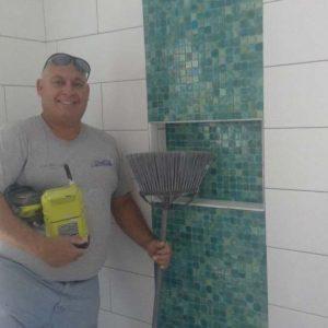 """The SandStar """"Tile Magicians"""" hard at work!"""