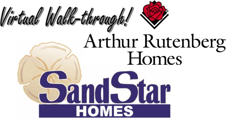 Virtual Walk-through of New SandStar/Arthur Rutenberg Home!