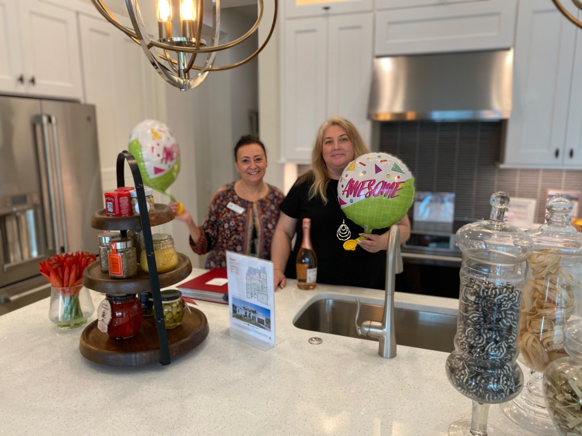 Marisa and Donna celebrate a record new home sales month in September 2020!